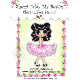 Tampon My Besties Betty Loo – Sherry Baldy – Clear Stamp