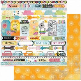 Papier 30x30 Rejoice 1f – Bo Bunny Faith