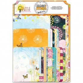 Cartes Faith 36 pc - Bo Bunny Miscme! Journal Contents