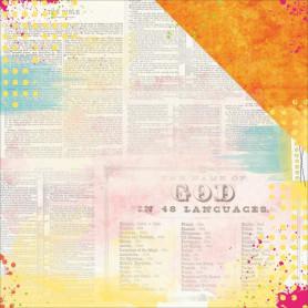 Papier 30x30 Blessed 1f – Bo Bunny Believe