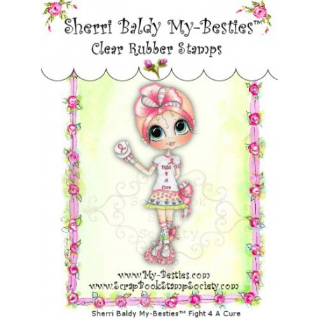 Tampon My Besties Hope – Sherry Baldy – Clear Stamp