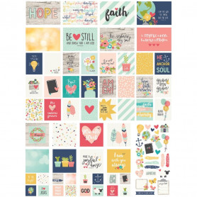 Cartes Project Life Faith SN@P pack 117 pc - Simple Stories
