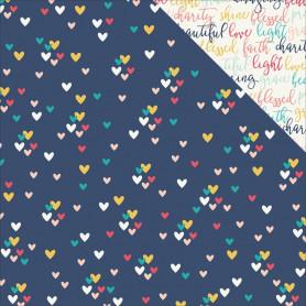 Papier 30x30 Love 1f – Simple Stories Faith