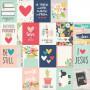 Papier 30x30 3x4 Journaling Card Elements 1f – Simple Stories Faith