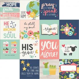 Papier 30x30 4x4 Elements 1f – Simple Stories Faith
