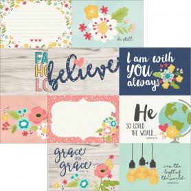 Papier 30x30 4x6 Horizontal Elements 1f – Simple Stories Faith
