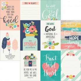 Papier 30x30 4x6 Vertical Elements 1f – Simple Stories Faith