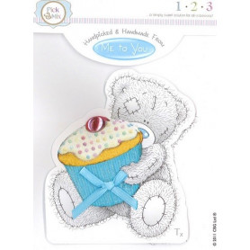 Topper Cupcake Handmade by Tatty Teddy - Me To You