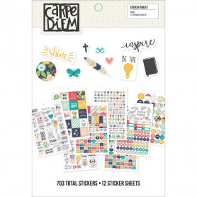 Carpe Diem Stickers Faith 703 pc - Simple Stories