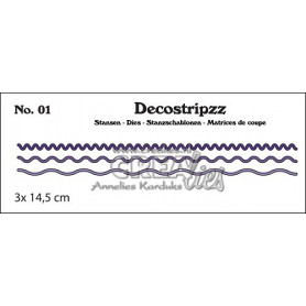 Decostripzz dies no. 01 Curves - Crealies