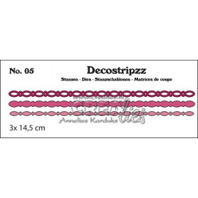 Decostripzz dies no. 05 Ovals - Crealies