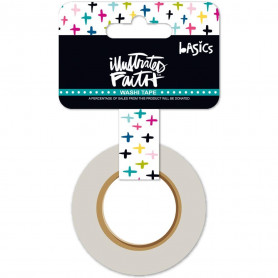 Washi Tape Criss Cross Color - illustrated Faith