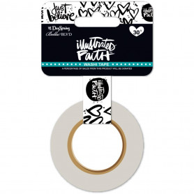 Washi Tape Just Believe - illustrated Faith