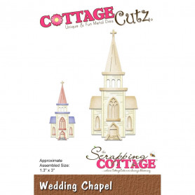 Die Chapelle - CottageCutz - Scrapping Cottage Die Wedding Chapel
