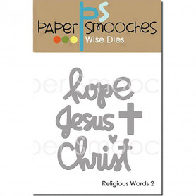 Dies Religious Words 2 - Paper Smooches wise dies
