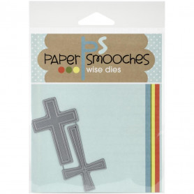 Dies Croix - Paper Smooches wise dies Crosses
