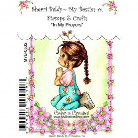 Tampon My Besties In My Prayers – Sherry Baldy – Clear Stamp