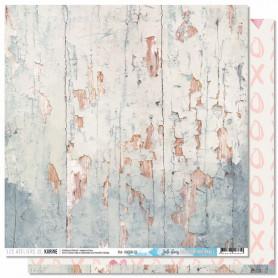 Papier 30x30 Joli bois 1f - Douceur Hivernale - Les ateliers de Karine