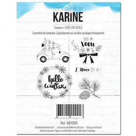 Tampons Fais un voeu - Douceur Hivernale - Les ateliers de Karine