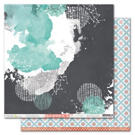 Papier 30x30 Cozy Days 5 1f - L'encre et l'image