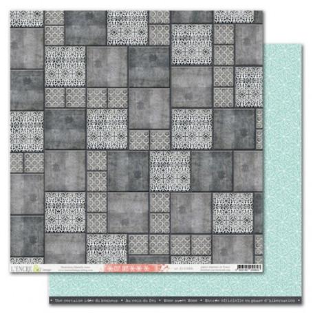 Papier 30x30 Cozy Days 6 1f - L'encre et l'image