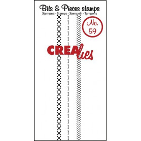 Tampons Stitch A – Bits and Pieces no 59 - Crealies