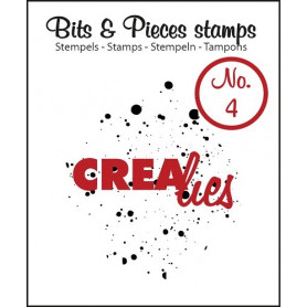 Tampon Ink splashes – Bits and Pieces no 04 - Crealies