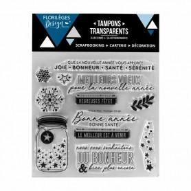 Tampons Voeux étoilés – Florilèges Design