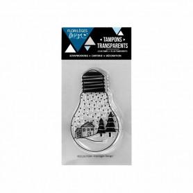 Tampon Lumière d'hiver – Florilèges Design