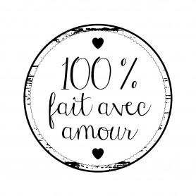 Tampon bois 100% fait avec amour – Woodies Artemio