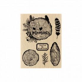 Tampon bois Parfum de sous-bois - Gypsy Forest - Florilèges Design