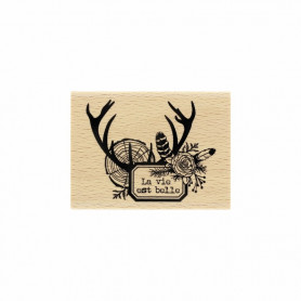 Tampon bois Vie des bois - Gypsy Forest - Florilèges Design