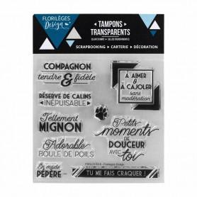 Tampons Compagnon fidèle – Florilèges Design