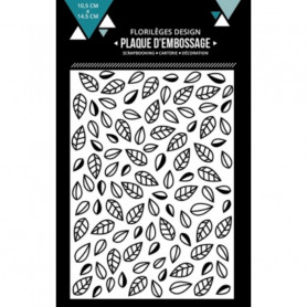 Classeur de gaufrage A6 Feuilles emmêlées – Florilèges Design – Embossing folder