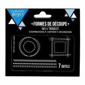 Dies Effets de couture 7p – Florilèges Design