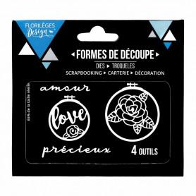 Dies Cercles à broder 4p – Florilèges Design
