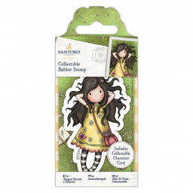 Collectable Rubber Stamp - Santoro - No. 43 Spring At Last - Gorjuss