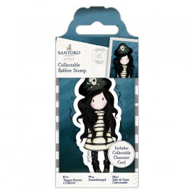 Collectable Rubber Stamp - Santoro - No. 49 Piracy - Gorjuss