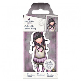Collectable Rubber Stamp - Santoro - No. 50 Jar Of Hearts - Gorjuss