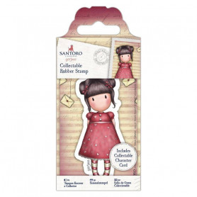 Collectable Rubber Stamp - Santoro - No. 54 Sweetheart - Gorjuss