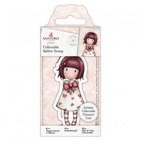 Collectable Rubber Stamp - Santoro - No. 57 Little Heart - Gorjuss