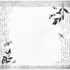 Papier 30x30 Cabinet de Curiosités 02 - 1f - Toga