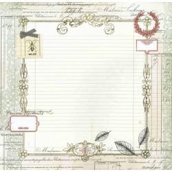 Papier 30x30 Cabinet de Curiosités 05 - 1f - Toga