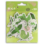 Chipboards en carton Oh my Green 20 pc - Toga