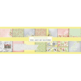 Set de papier 30x30 The Art of Nature 8 feuilles – ScrapBerry's