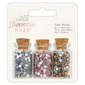Gem Stone Bottle Moroccan Haze - Capsule - Docrafts Papermania
