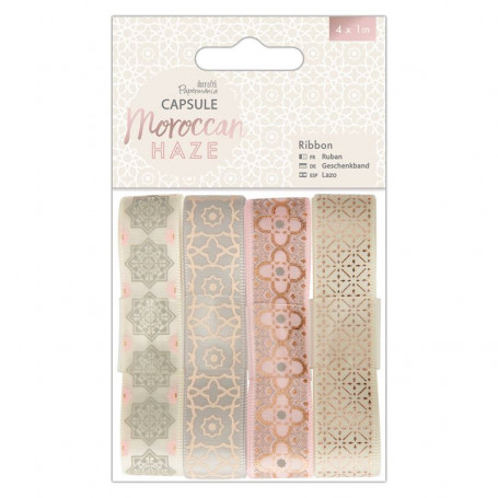 Ruban Moroccan Haze (4x1m) Capsule Collection – Docrafts Papermania