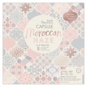 Set de papier 30x30 Moroccan Haze 32 feuilles - Capsule Docrafts Papermania