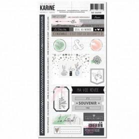 Stickers Mademoiselle Tendresse - Les ateliers de Karine