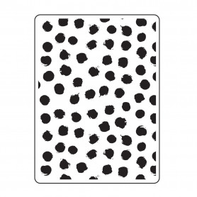 Classeur de gaufrage A6 Blot Dot Background – Darice – Embossing folder Multi lines